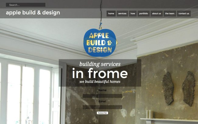 Website development UK for Apple Build and Design
