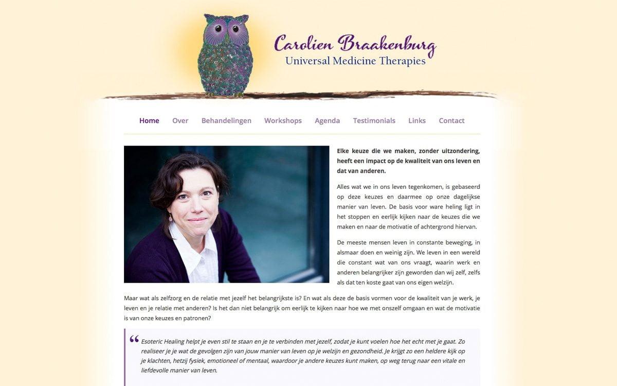 Carolien Braakenburg - Universal Medicine Therapies