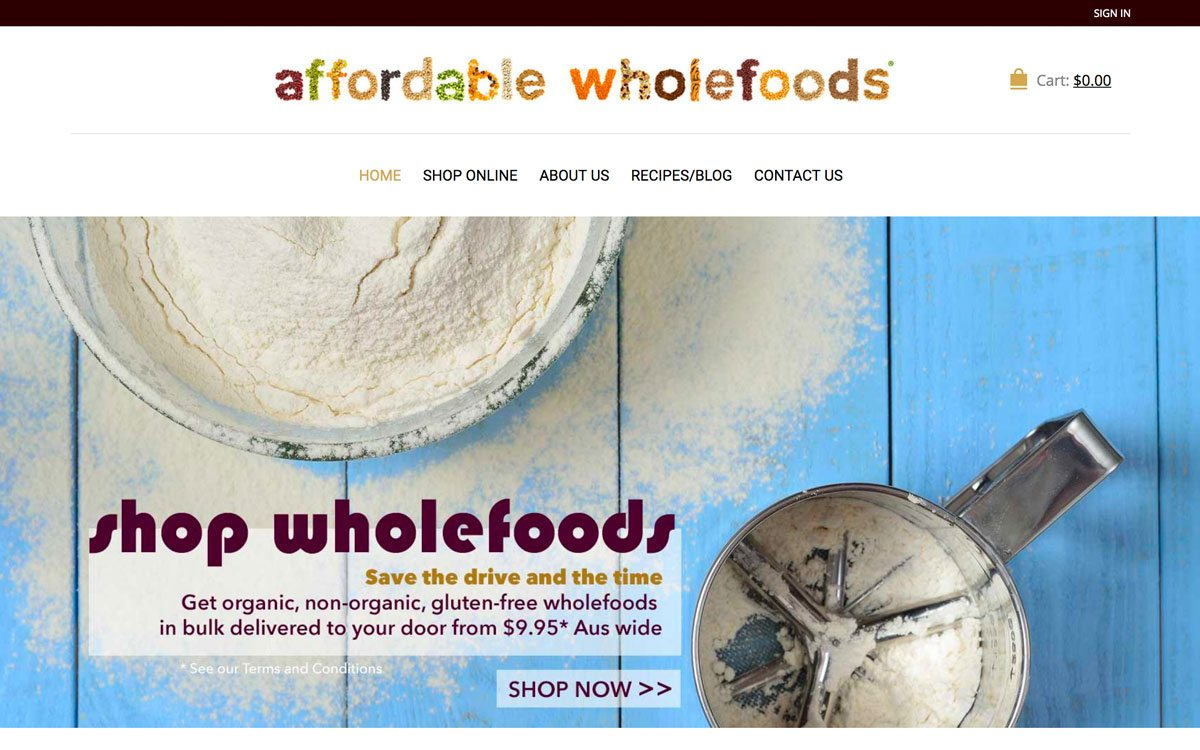 Affordable Wholefoods