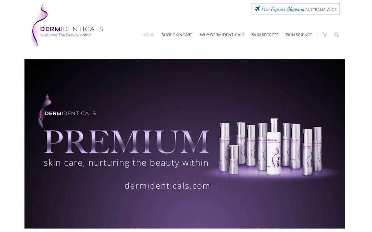 DermIdenticals Home Banner