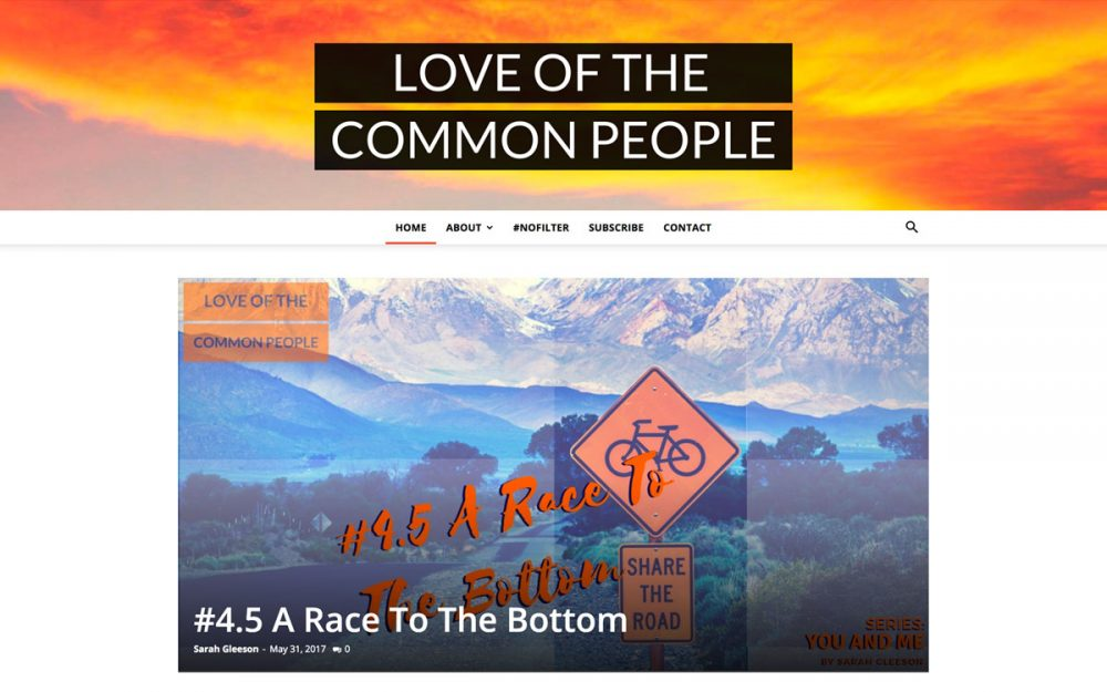 Love Of The Common People Website Development