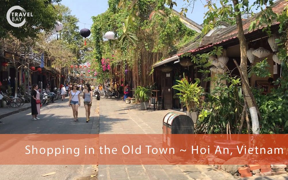 Shopping in the Old Town - Hoi An Vietnam Video Editing Lismore